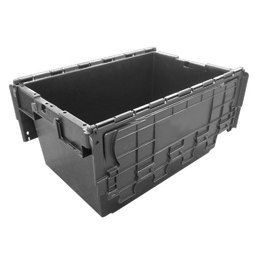 Attached Lid Containers (AT10A804BW) AT10A804 - 10A82 - 80 Litre - Black - 710x460x368mm