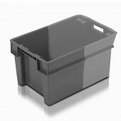 Stack Nest Containers (SN105105AD) SN105105 - 11051 - 50 Litre - Grey/Light Grey - 600x400x300mm