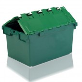 Attached Lid Containers (AT10A804AA) AT10A804 - 10A83 - 80 Litre - Green - 710x460x368mm