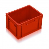 Euro Stacking Boxes (ES210204AB) ES210204 - 21020 - 20 Litre - Red - 400x300x235mm