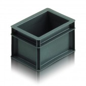 Euro Stacking Boxes (ES000204AA) ES000204 - 20002 - 2 Litre - Grey - 200x150x118mm