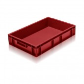 Euro Stacking Boxes (ES102104AB) ES102104 - 2A021 - 21 Litre - Red - 600x400x118mm