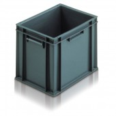Euro Stacking Boxes (ES103004AA) ES103004 - 21030 - 30 Litre - Grey - 400x300x319mm