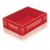 Euro Stacking Boxes (ES210104AB) ES210104 - 21010 - 10 Litre - Red - 400x300x118mm