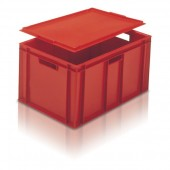 Euro Stacking Boxes (ES210605AB) ES210605 - 21060 - 60 Litre - Red - 600x400x319mm