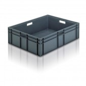 Euro Stacking Boxes (ES210905AA) ES210905 - 21090 - 87 Litre - Grey - 800x600x235mm