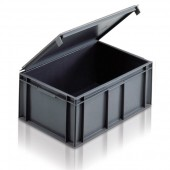 Euro Stacking Lidded Boxes